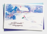 Peaceful Moments Christmas Cards, Box of 18