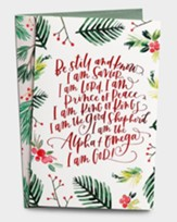 Be Still and Know I Am Savior Christmas Cards, Box of 18