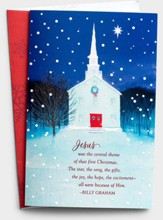Jesus was the Central Theme Christmas Cards, Box of 18