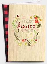 Let Every Heart Prepare Him Room Christmas Cards, Box of 18