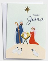 Simply Jesus, Manger, Christmas Cards, Box of 18