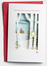 Like the Quiet Beauty of Christmas, Forest, Christmas Cards, Box of 12