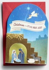 Christmas-It's All About Jesus, Nativity, Christmas Cards, Box of 12