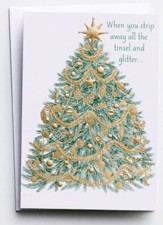 Tree to Cross 5 Panel Christmas Cards, 18