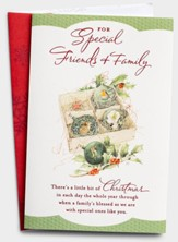 A Little Bit of Christmas Christmas Cards, Box of 18