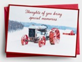 Special Memories, Tractor, Christmas Cards, Box of 18