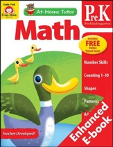 At-Home Tutor: Math, Grade Pre-K