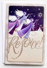 Rejoice, Angels, Christmas Cards, Box of 18