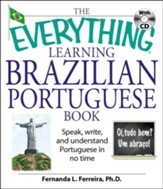 The Everything Learning Brazilian Portuguese Book With Cd