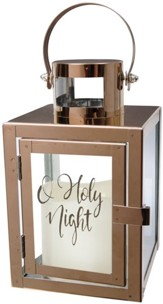 O Holy Night LED Flameless Lantern
