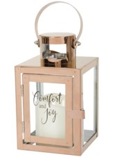 Comfort and Joy LED Flameless Lantern