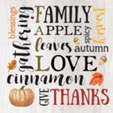 Fall Words Trivet