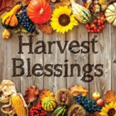 Harvest Blessings Trivet