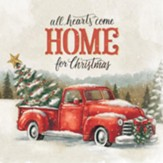 All Hearts Come Home For Christmas Trivet