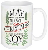 May the Miracle of Christmas Fill Your Heart with Joy Boxed Mug