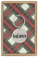 Believe Boxed Keychain