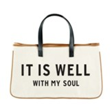It Is Well, Canvas Tote