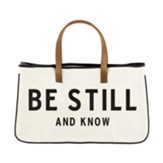 Be Still And Know, Canvas Tote