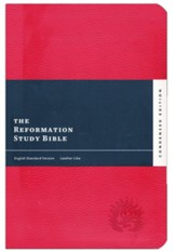 ESV Reformation Study Bible, 2017 Condensed Edition, Soft Leather-look, Red