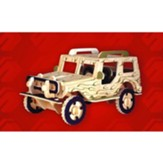 Jeep 3D Natural Wood Puzzle