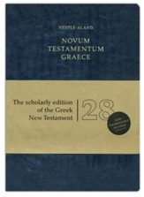 Novum Testamentum Graece, Nestle-Aland 28th Edition (NA28) Imitation Leather-Blue