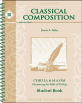 Classical Composition Student Book,  2nd Edition