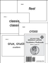 Henle Latin II Vocabulary Flashcards