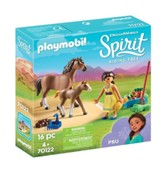Playmobil Pru with Horse and Foal