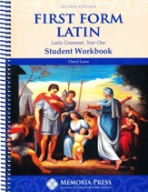 First Form Latin Student Workbook (2nd Edition)