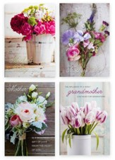 Floral Bouquets Mother's Day Cards, Box of 12