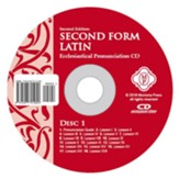 Second Form Latin, Ecclesiastical Pronunciation CD Second Edition