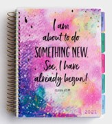 2021 I Am About To Do Something New Weekly Agenda Planner