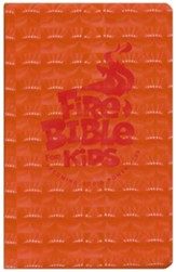 NKJV Fire Bible for Kids, Flexisoft