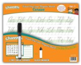Channie's Visual Dry Erase &  Magnetic Board for Cursive (2 Pack)