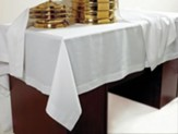 Communion Table Cover, Polyester/Rayon Blend, 50 x 86
