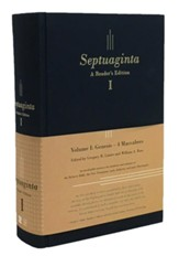 Septuaginta: A Reader's Edition - hardcover blue, 2 volumes