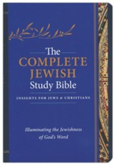 The Complete Jewish Study Bible, Flexisoft Leather,   Dark Blue