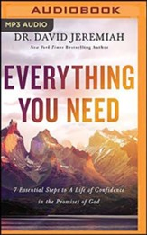 Everything You Need, Unabridged Audiobook on MP3-CD