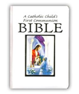 A Catholic Child's First Communion Bible - Girl Edition
