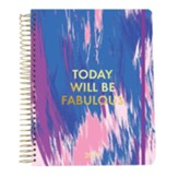 2019 Today Will Be Fabulous, 18 Month Planner, Small