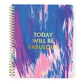 2019 Today Will Be Fabulous, 18 Month Planner, Large