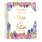2019 Jeremiah 29:11, 18 Month Planner, Small