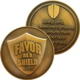 Favor As A Shield Challenge Coin