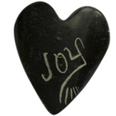 Joy, Pocket Heart Token, Serpentine Stone