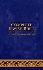 Complete Jewish Bible: 2017 Updated Edition, Navy Blue Imitation Leather