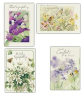Sympathy Cards, Box of 12