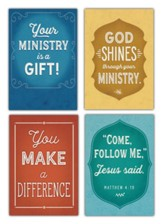 Service, Ministry Appreciation Cards, Box of 12