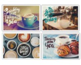 Coffee House Thinking Of You Cards, Box of 12