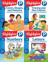 Highlights Preschool Learning Workbook Pack