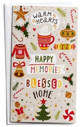 Warm Hearts Christmas Cards, Box of 16